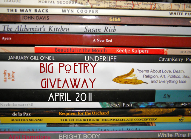 Big Poetry Giveaway 2011