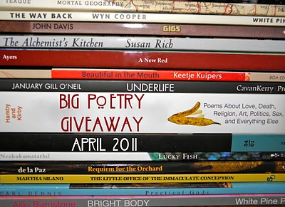 The Big Poetry Giveaway! 2011!
